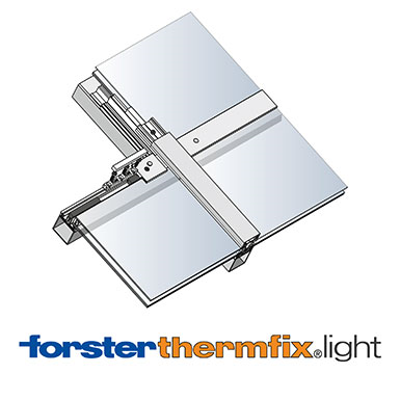 Image for Sloped glazing Forster thermfix light
