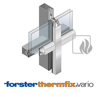Image for Curtain wall Forster thermfix vario Security