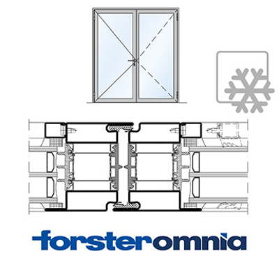Image for Door Forster omnia double leaf