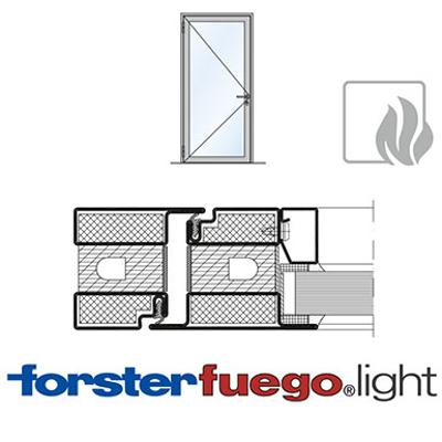 Image for Door Forster fuego light EI60, single leaf