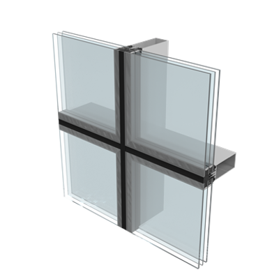 Image for P50S SG facade (Structural Glazing System)