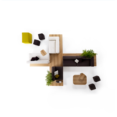 Image for Mus Fixed Sofa