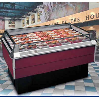 Image for KYSOR/WARREN - LD1C Self Contained, Single-Deck Display Case for Frozen Food