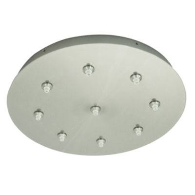 """Image for 16"""" Round 5, 7 And 9 Port Fast Jack Canopy"""