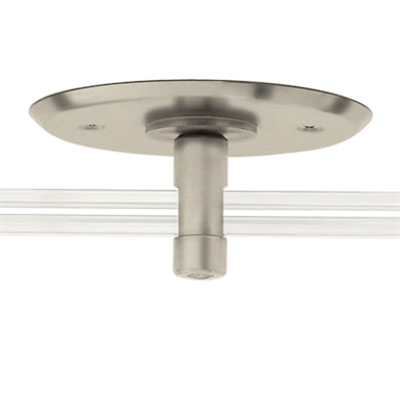 """Image for Monorail 4"""" Round Single Power Feed Canopy"""