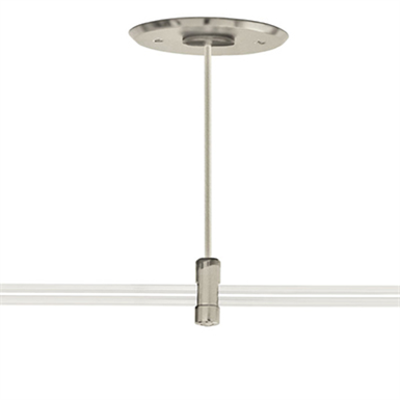 """Image for 4"""" Round Rigid Extended Single Feed Power Canopy"""