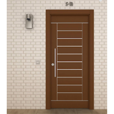 Image for STRUGAL 500 D2 Exterior Door (Staved Collection)