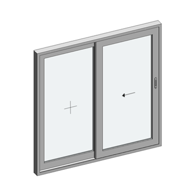 Image for STRUGAL S110P Window (One-Leaf+Fixed-Leaf)