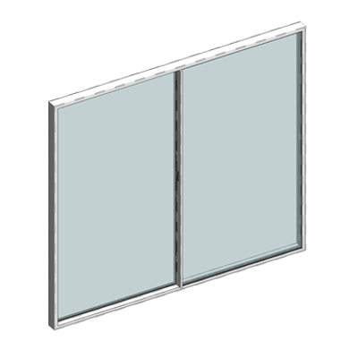 Image for STRUGAL S160RP HORIZON Window (Two-Leaf)