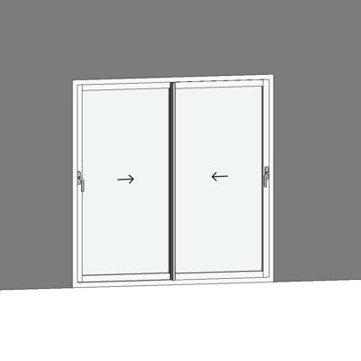 Image for STRUGAL S88RP  Window (Sliding)