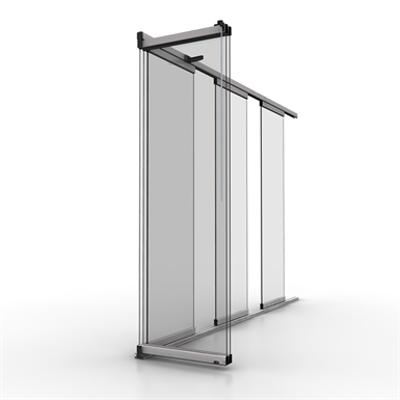 Image for STRUGAL S30 VERTICAL GLASS (Sliding Glass Closure)