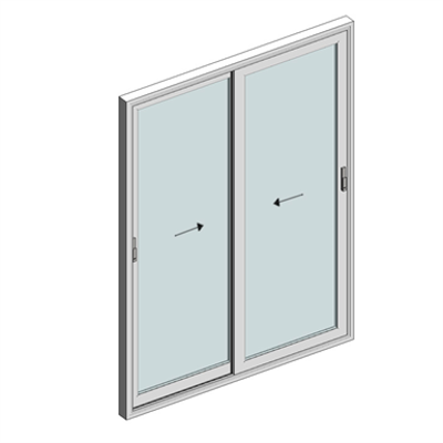 afbeelding voor STRUGAL S70P Window (Two-Leaf)