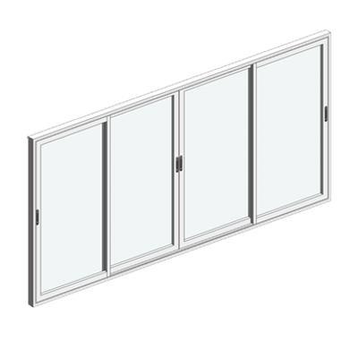 Image for STRUGAL S86RP Window (Four-Leaf)