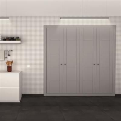 afbeelding voor STRUGAL CABINET FRONT Folding Doors (Four-Aluminium Inlays-Leaf)