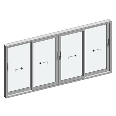 Image for STRUGAL S150RP Window (Four-Leaf)
