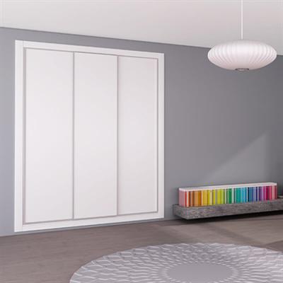 afbeelding voor STRUGAL CABINET FRONT Sliding Doors (Two-Aluminium Inlays-Leaf)