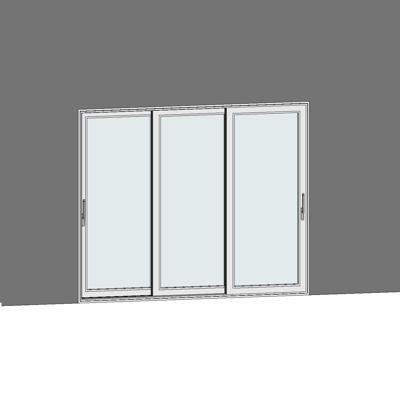 Image for STRUGAL S125RP Window (Three-Rails)