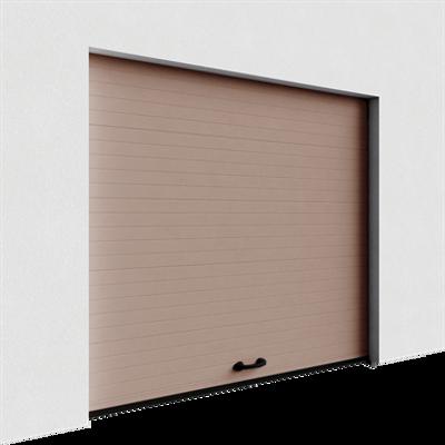 Image for Garage door - Veined Wood Grooved Normal Lift