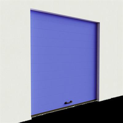 Image for Garage door - Veined Wood One Groove Normal Lift
