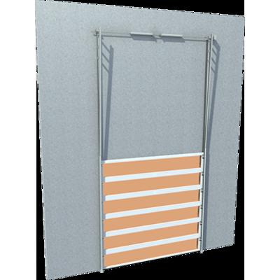 Image pour Porte industrielle Liné'R fumée levée verticale