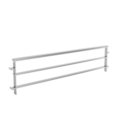 Image for Balustrades two rails on low wall