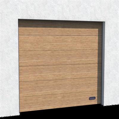 Image for Industrial Door Golden Oak Veined Wood Normal and High lift