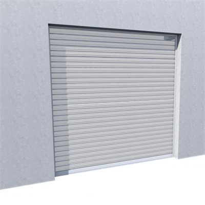 Image for Murax 110 Security Shutter Micro-Perforated Lacquered RAL