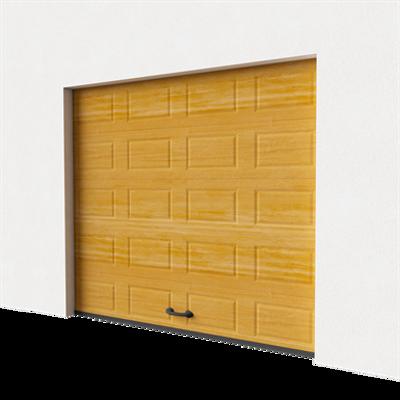 Image for Garage door - Cassette Imitation Wood Normal Lift