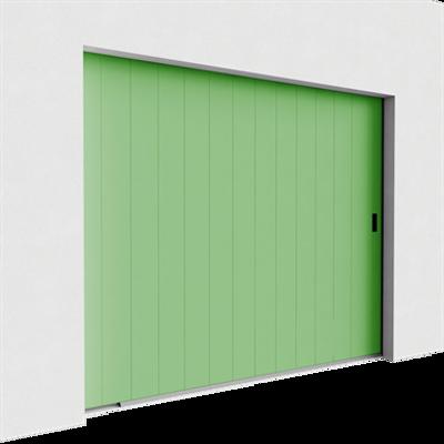 Image for Garage door - Veined Wood One Groove Side Sliding
