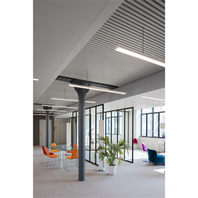 Image for Pline suspension with false ceiling