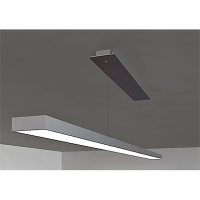 Image for Suspension Pline feeds cables without false ceiling