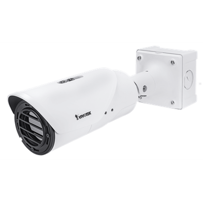 Imagem para TB9331-E Thermal Bullet Network Camera, 720x480, H.265, IP67, IK10, VCA, ePTZ, Smart Stream II}