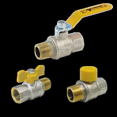 Image for 2201G-2221G-2241G _ URAGANO Full bore ball valves for GAS male/female
