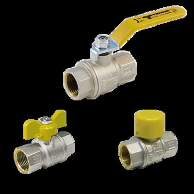 Image for 2200G-2220G-2240G _ URAGANO Full bore ball valves for GAS female/female