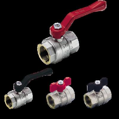 Image for 2310 -2310N-2320-2320N _ SCIROCCO full bore ball valve female/female with aluminium handle