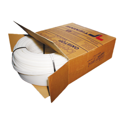 Image for 0200_ High density cross-linked polyethylene pipe with anti-oxygen barrier, color white