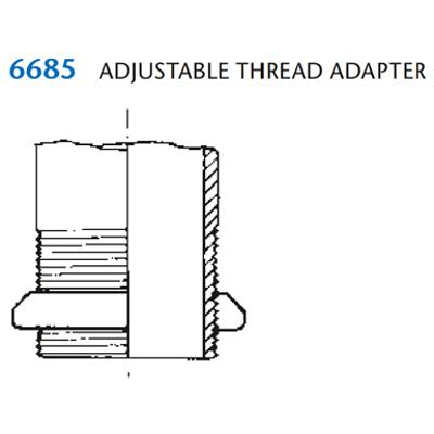 Image for KIMAX Model 6685 Adjustable Thread Adapter