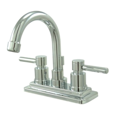 Image for Kingston Brass KS866DL Concord Twin Lever Handles Lavatory Faucet