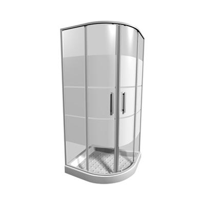 รูปภาพสำหรับ LYRA PLUS Shower enclosure 90x90x190 cm, corner