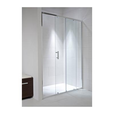 รูปภาพสำหรับ CUBITO PURE Shower door, left/right, one sliding and one fixed segment, reversible