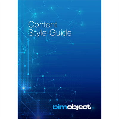 Image for BIMobject Content Style Guide
