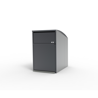 Image for Modul Maxi single, bin shelter, litter bin, recycling, waste management, large hatch