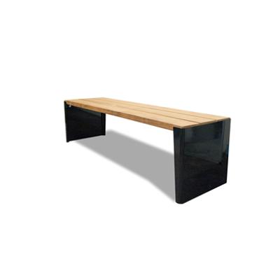 Image for Kuru public bench, without backrest