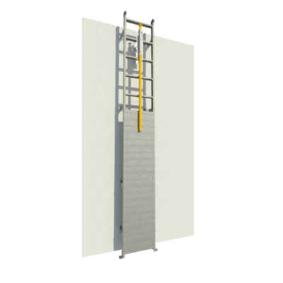 Image for Standard Duty Fixed Aluminum Wall Ladders