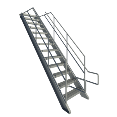 Image for Fixed Industrial Stairs