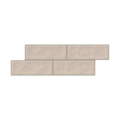 Image for Brick Fachaleta Medina Taupe Cd