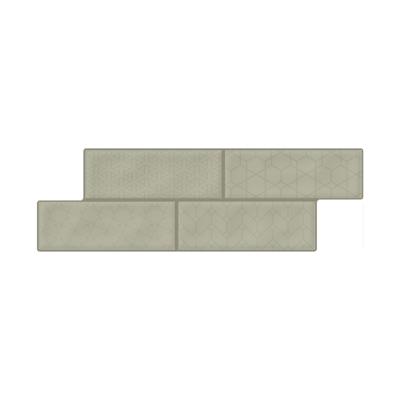 Image for Brick Fachaleta Medina Verde Oliva Cd