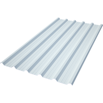 ONDUCLAIR PC MT-32: Trapezoidal polycarbonate roofing sheet - Hiansa MT-32 için görüntü
