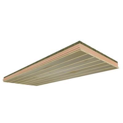 ONDUTHERM Sandwich Panel with interior fir-wood panelling finish için görüntü