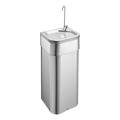 Immagine per Purita 900mm Pedestal S/S Drinking Fountain With Bottle Filler